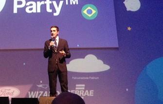 Matteo Achili, o ''Zuckerberg italiano'', conta a sua experiência como empreendedor (Foto: Paulo Finotti/TechTudo) (Foto: Matteo Achili, o ''Zuckerberg italiano'', conta a sua experiência como empreendedor (Foto: Paulo Finotti/TechTudo))