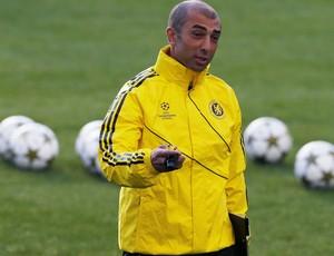 Roberto di Matteo chelsea treino (Foto: Agência Reuters)