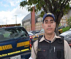 Dovercindo Borges Neto, presidente do Sindicato dos policais (Foto: Marina Fontenele/G1 SE)