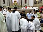 Missa do Lava-Pés é realizada na Catedral Metropolitana de Manaus