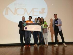 O Prêmio Superação ficou com a equipe do Égua, Mano! (Foto: Divulgação)
