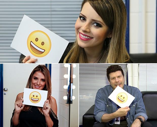 Elenco conta o que os deixa com esse sorrisão bobo (Foto: Isabella Pinheiro / Ellen Soares / Gshow / TV Globo )