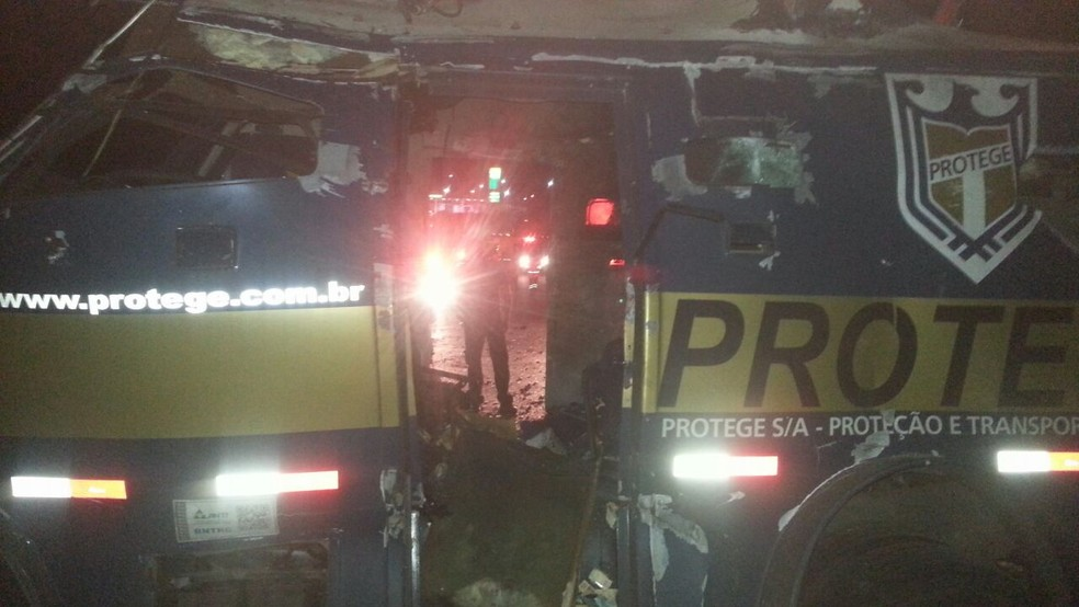Crime aconteceu na noite da última segunda-feira (Foto: G1 Santos)
