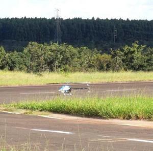 Helimodelismo em Uberlândia (Foto: Divulgação/Aeroclube Caça e Pesca)