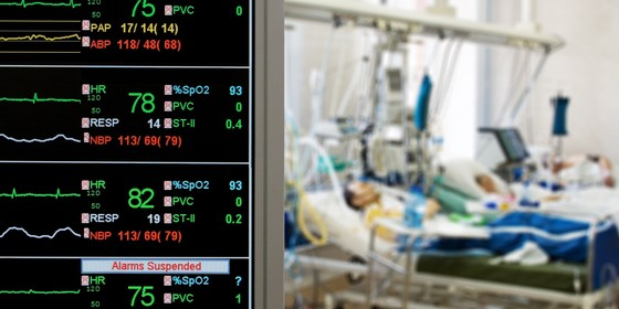 Pacientes internados em Unidade de Terapia Intensiva (UTI): metade dos pacientes com sepse morrem nos hospitais brasileiros (Foto: Thinkstok)