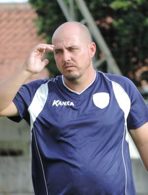 Rodrigo César, Grêmio Prudente (Foto: Murilo Rincon / GloboEsporte.com)
