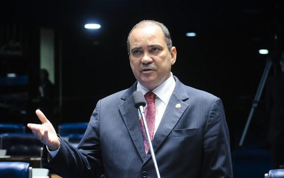 O senador Vicentinho Alves (PR-TO) (Foto: Geraldo Magela/Agência Senado)