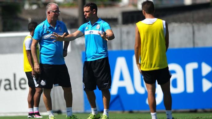 Dorival Júnior e Lucas Silvestre, Santos (Foto: Ivan Storti/Santos FC)