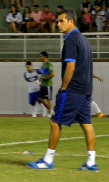 Álvaro Miguéis, técnico do Atlético-AC (Foto: Nathacha Albuquerque)