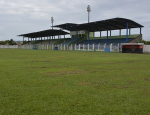 Estádio Gentil Valério, em Ariquemes (Foto: Franciele do Vale)