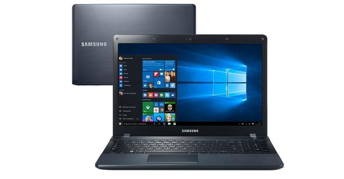 Notebook Samsung Essentials E33 oferece Windows 10 (Foto: Divulgação/Samsung) (Foto: Notebook Samsung Essentials E33 oferece Windows 10 (Foto: Divulgação/Samsung))