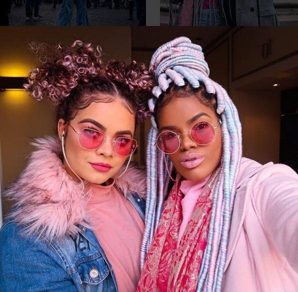 Nina Gabriela e Josy Ramos (Foto: Reprodução Instagram)