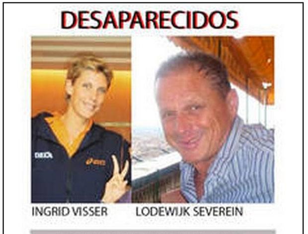 Ingrid Louise Visser vôlei Holanda desaparecida (Foto: Reprodução)