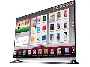TV 4K da LG tem tecnologia NFC e permite que um celular compatível reproduza o conteúdo do televisor (Foto: Divulgação/LG)