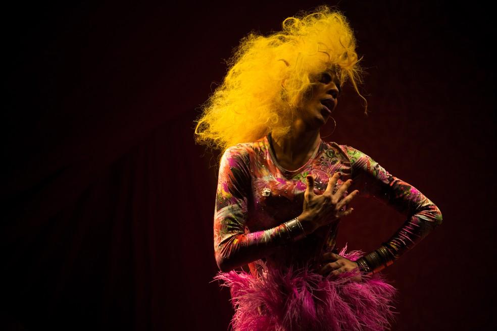 Batalha das drags  (Foto: Victor Moriyama/G1)