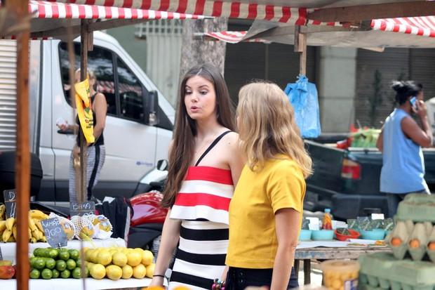 Camila Queiroz e Angélica  (Foto: Jc Pereira/AgNews)
