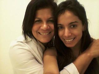 Lurdinha Mattos, esteticista, e Anitta (Foto: Arquivo pessoal)