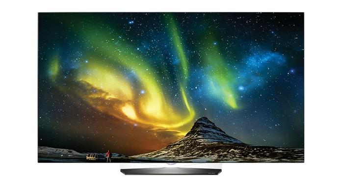 Smart TV da LG oferece tela OLED em 4K (Foto: Divulgação/LG)