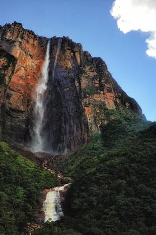 Cachoeira Salto del Angel, a mais alta do mundo, na Venezuela (Foto: Paulo Capiotti/Creative Commons)