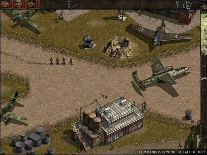 Commandos é um jogo de combate tático para PC (Foto: Reprodução / GOG)
