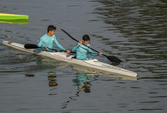 Meninos do cadete foram observados no Brasileiro por Jesús (Foto: Flickr / Confederação Brasileira de Canoagem)