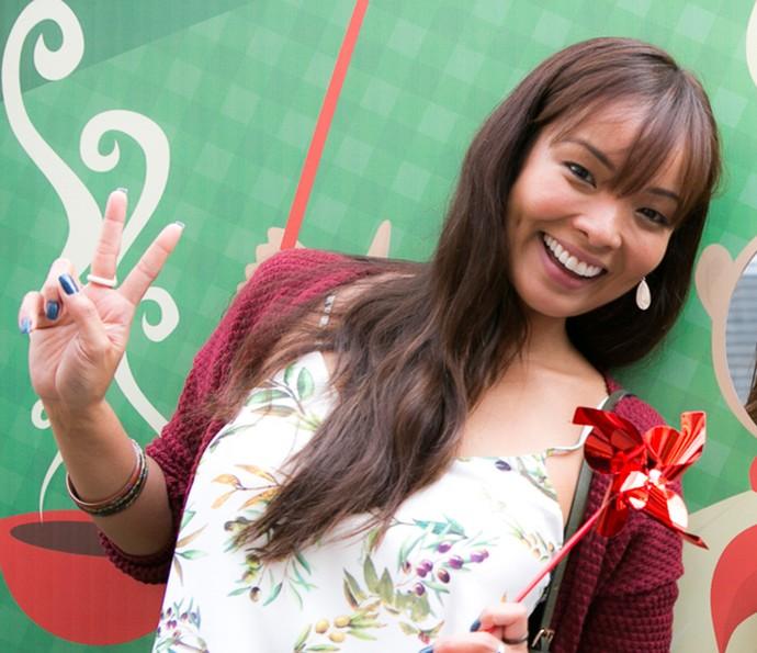 Hiromi sonha construir uma família, assim como Carol Nakamura, que interpreta a personagem de 'Sol Nascente' (Foto: Gshow / Ellen Soares)