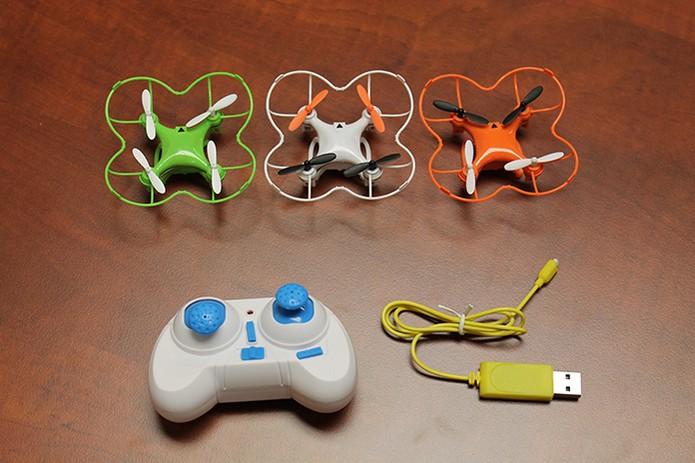 Nano drone é controlado de forma mais simples (Foto: Divulgação/Indiegogo)
