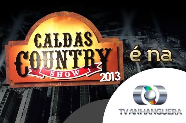 Caldas Country é na TV Anhanguera. (Foto: Divulgação/TV Anhanguera)