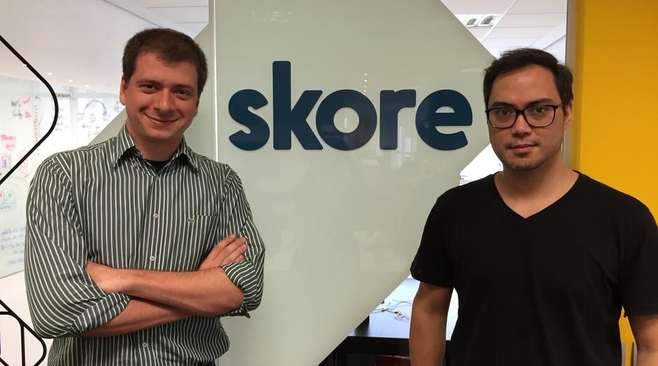 Luis Novo e Ricardo Katayama, os criadores da plataforma colaborativa de treinamento Skore (Foto: Divulgação)