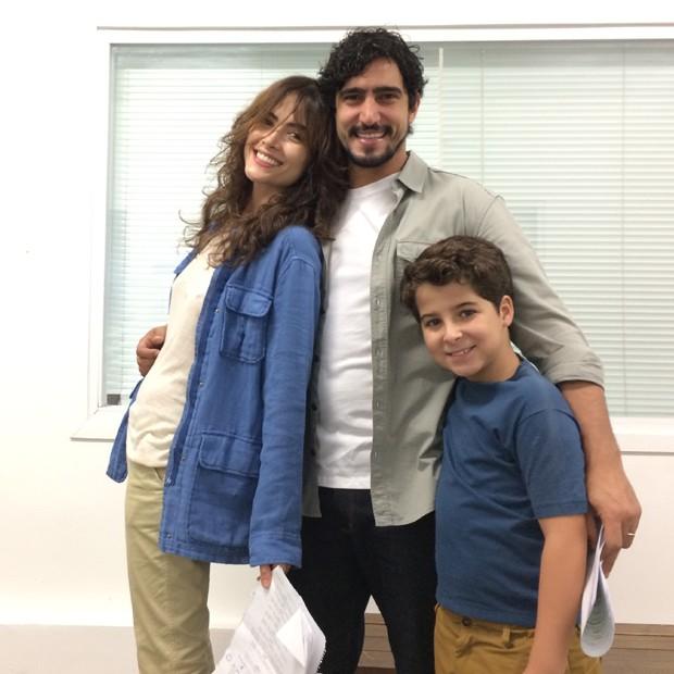 Maria Casadevall, Renato Góes e Luiz Felipe Mello (Foto: Divulgação)