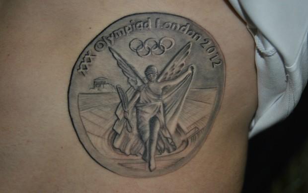 Arthur Zanetti ginástica tatuagem (Foto: João Gabriel Rodrigues)