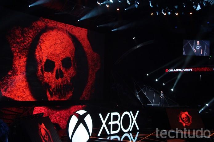 Gears of War 4 chegará no fim de 2016 (Foto: Tais Carvalho/TechTudo)