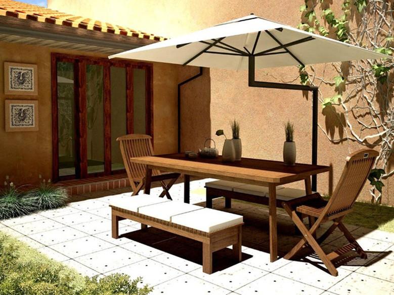 Como escolher os m veis da rea externa casa gnt for Mobiliario para casas pequenas