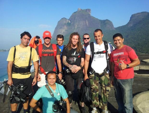 Base Jump (Foto: Genito Jr./TV GLOBO)
