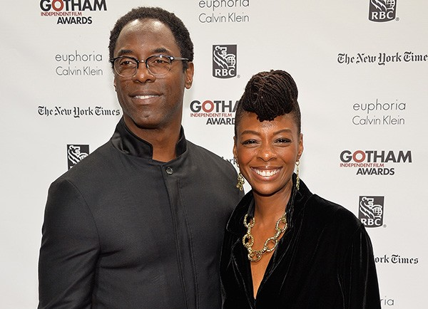 Isaiah Washington e Jenisa Washington (Foto: Getty Images)