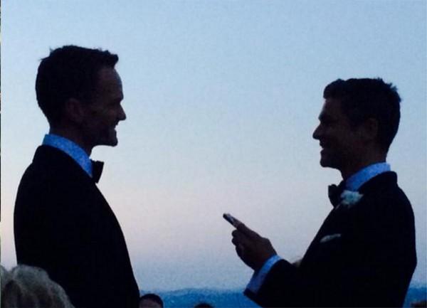 Neil Patrick Harris e David Burtka (Foto: Reprodução)