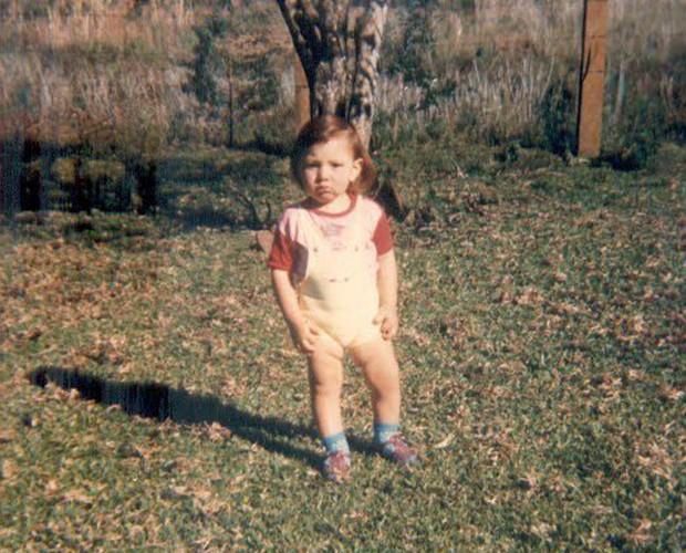 Cézar quando criança (Foto: Arquivo Pessoal)