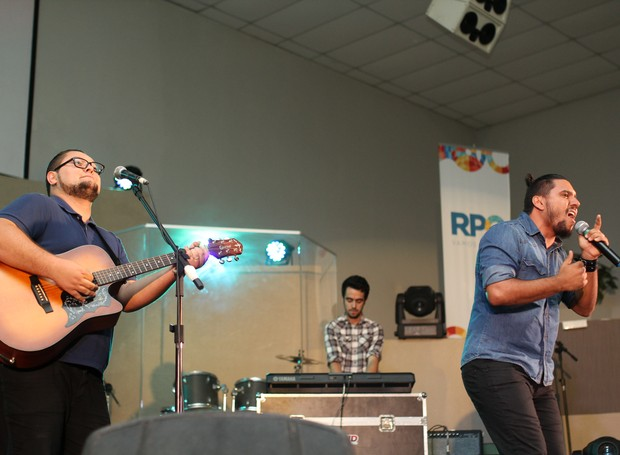 Banda Essência veio de Wenceslau Braz para a 3ª edição do Festival (Foto: Rafael Veraldo/ RPC)