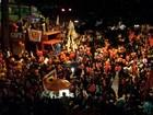 Protesto em Belo Horizonte pede saída de Temer da Presidência