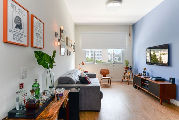 Decora o pr tica e colorida transforma apartamento alugado casa vogue apartamentos - Decorar salon barato ...