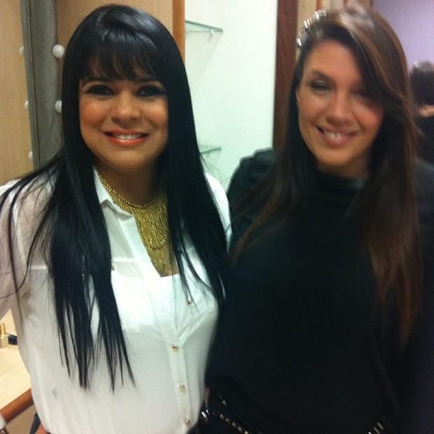 Mara Maravilha e Simony (Foto: Instagram / Reprodução)