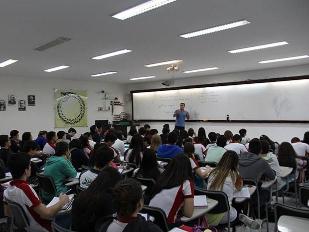 Este é o 4º ano consecutivo que o Colégio Ciências Aplicadas alcança a melhor média no Enem (Foto: Gabriela Barreto)