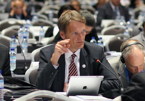 Karsten Sach, do departamento do Meio Ambiente na Alemanha (Foto: Reprodução/Tiwtter)
