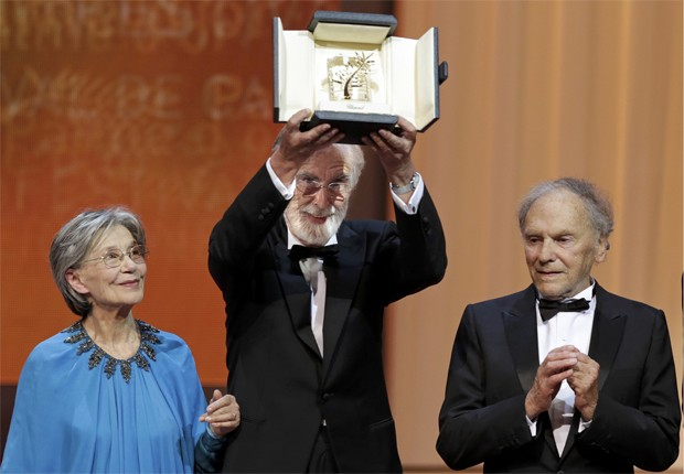 Michael Haneke Palma de Ouro Cannes (Foto: Eric Gaillard/REUTERS)