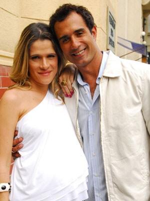 Simone (Ingrid Guimarães) e Denis (Marcos Pasquim) (Foto: Divulgação/ Globo)