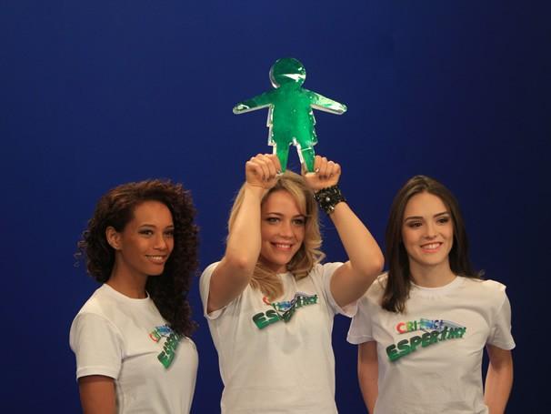 Taís Araújo, Leandra Leal e Isabelle Druond, atrizes de Cheias de Charme, gravam film da fase de doação da campanha do Criança Esperança 2012 (Foto: Divulgação / Christina Fuscaldo)