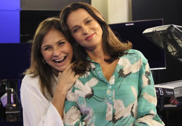 Fafá de Belém e Sonia Racy (Foto: Divulgação)
