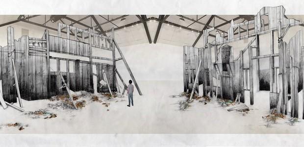 exposição-erica-ferrari-estudo-para-monumento-ruinas-1 (Foto: Divulgação)