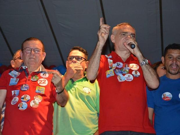 Paulinho (PR) foi eleito com 23.554 votos a Prefeitura de São Gonçalo do Amarante (Foto: Reprodução)