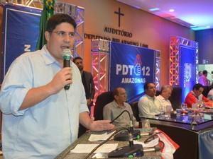 Candidatura do Hissa Abrahão foi oficializada nesta quinta (14) (Foto: Divulgação)